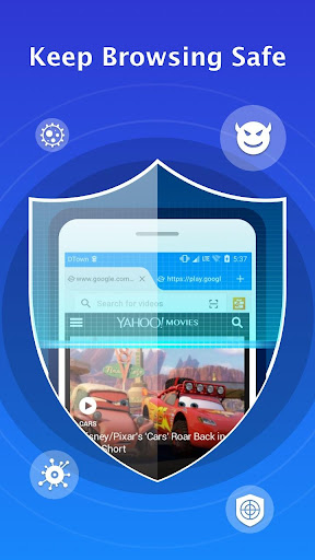 Web Browser for Android screenshot 2