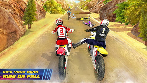 Motocross Dirt Bike Stunt Racing Offroad Bike Game screenshot 2