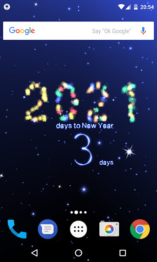 New Year countdown 2021 screenshot 2
