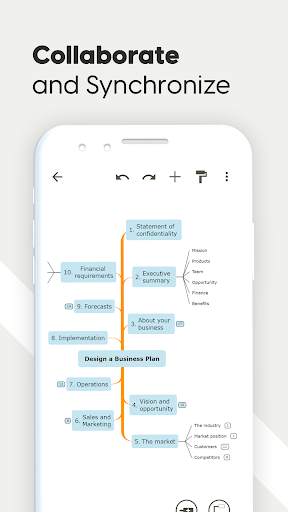 Mind Map & Concept Map Maker - Mindomo screenshot 7