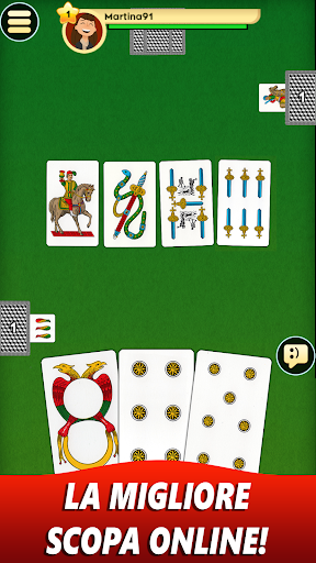 Scopa Online screenshot 1