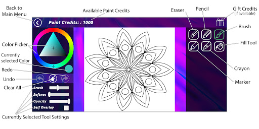 Coloring Pages [Adults] screenshot 8