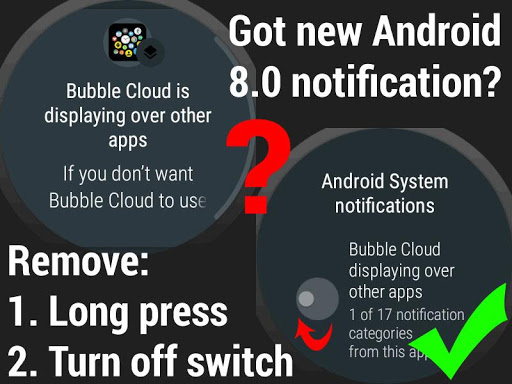 Bubble Cloud Tile Launcher / Watchface (Wear OS) screenshot 32