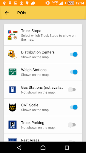 SmartTruckRoute2 Truck GPS Routes and Navigation screenshot 2