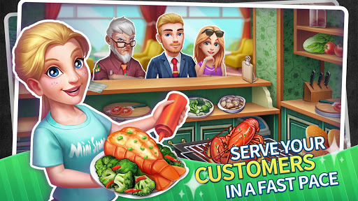 My Restaurant Empire:Decorating Story Cooking Game screenshot 2