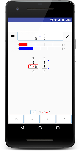 Math (Fractions) Step By Step screenshot 2