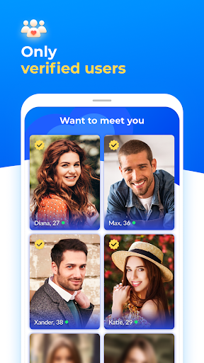 Dating with singles nearby - iHappy screenshot 2