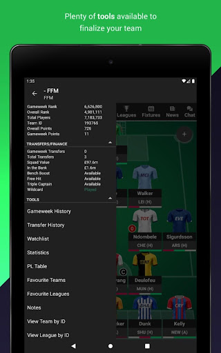 (FPL) Fantasy Football Manager for Premier League screenshot 3