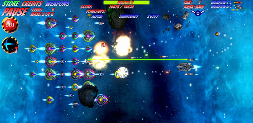 Space D-Fense screenshot 1