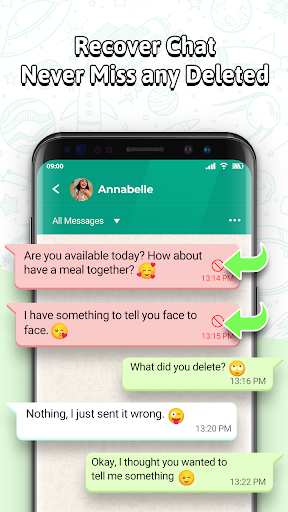WhatsDeleted+ Recover Deleted Message for WhatsApp screenshot 1