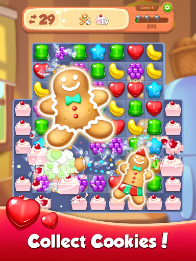 Candy N Cookie : Match3 Puzzle screenshot 19