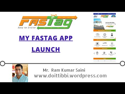 MY FASTag Application Launch || All Information Regarding this Android Application ||