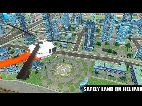Helicopter Flying Adventures Gameplay