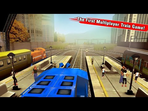 Train Racing Games 3D 2 Player Android Gameplay