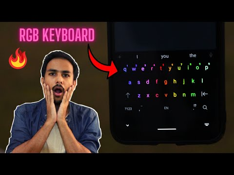 Enable RGB🔥Gaming Keyboard in Your Phone [2 Min Series]   Best Keyboard For Android