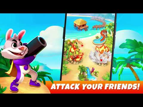 video review of Resort Kings: Raid Attack and Build your Resorts