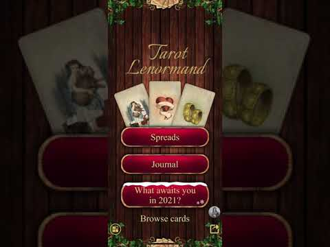 video review of Tarot Madame Lenormand