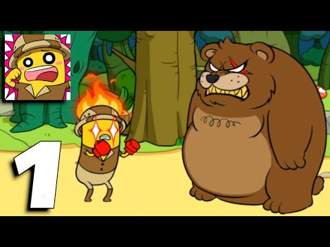 BANATOON Treasure hunt! - Gameplay Part 1 All Endings, Epic Fails (Android,iOS)