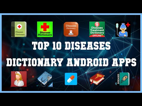 Top 10 Diseases Dictionary Android App | Review