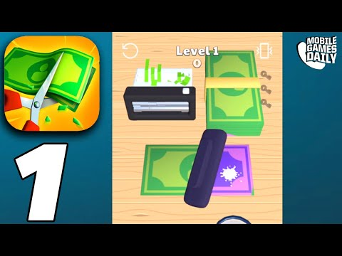 Money Buster! - Gameplay Walkthrough Part 1 (iOS Android)