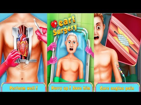 Heart Surgery: ER Doctor Surgeon Simulator Games Android Gameplay HD