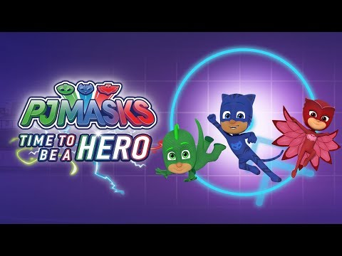 PJ Masks - Time to be a Hero Game Trailer (new free app!)