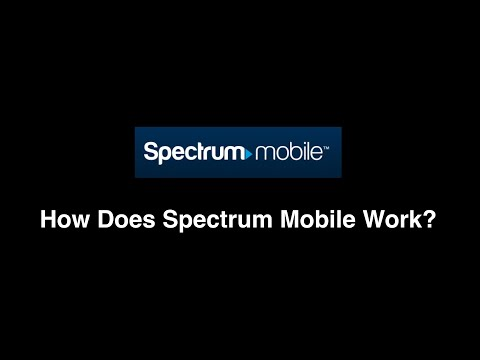 How Does Spectrum Mobile Work?