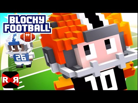 Blocky Football (By Full Fat) - iOS / Android - Gameplay Video