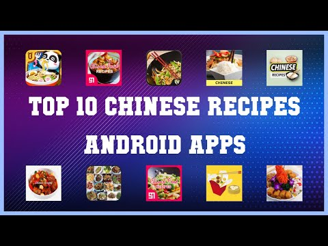 Top 10 Chinese Recipes Android App | Review