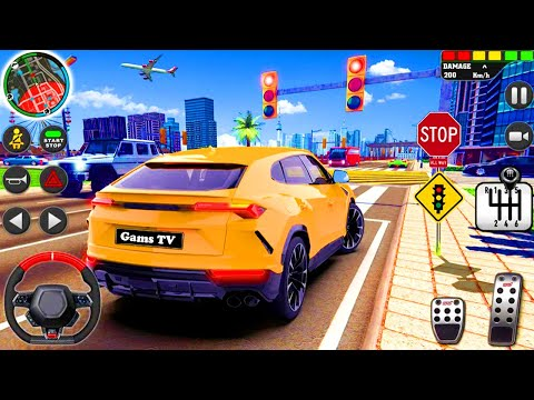 city driving school simulator 3d - Car Parking #2021 || Android Gameplay || Games TV Nursery