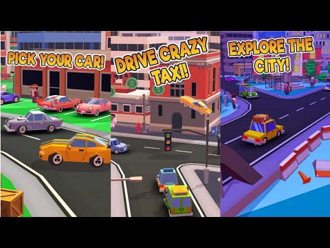 Taxi Run - Crazy Driver Android Gameplay