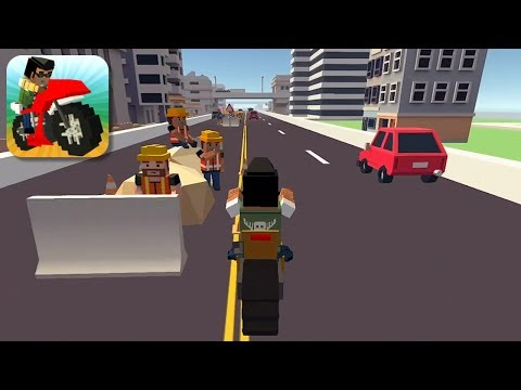 Blocky Moto Racing - Gameplay Trailer (iOS, Android)