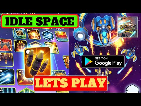 Lets Play Idle Space Clicker, Android Gameplay, Begginer Tips and Walktrough