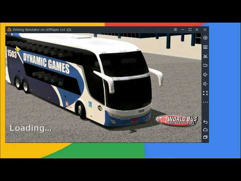 World Bus Driving Simulator Gameplay Test on LDPlayer Android Emulator for PC
