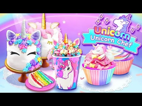 Unicorn Chef: Cooking Games for Girls - Android gameplay Movie apps free best Top Film Video Game