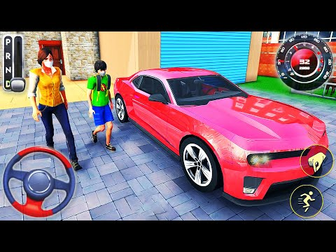 Virtual Family Life Happy Dad Mom - Housewife Car Driver 3D Simulator - Android GamePlay