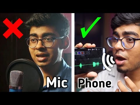 Record your Voice Professionally on Mobile in 2019   Full Android Tutorial