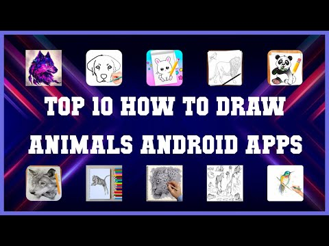 Top 10 How To Draw Animals Android App   Review