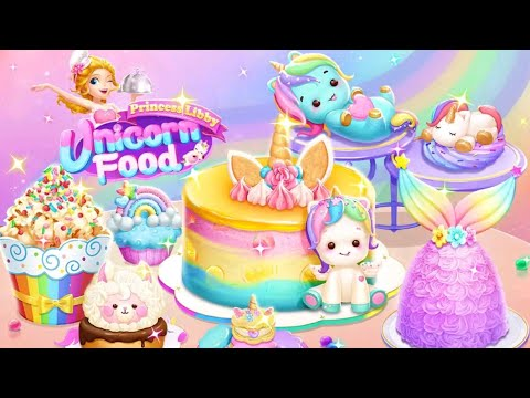 Princess Libby 🦄 Unicorn Food 🌈 - Android gameplay Libii Movie apps free best Top Tv Film games