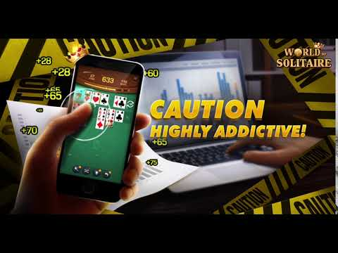 Highly addictive game! World of solitaire