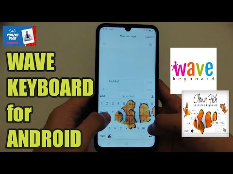 HOW TO DOWNLOAD & HOW TO USE WAVE KEYBOARD for ANDROID