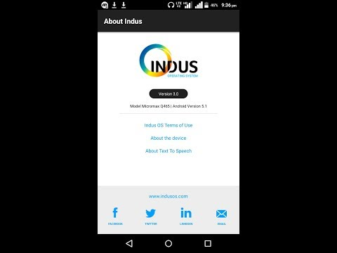 2018 New Update Indus Launcher    by Master Android