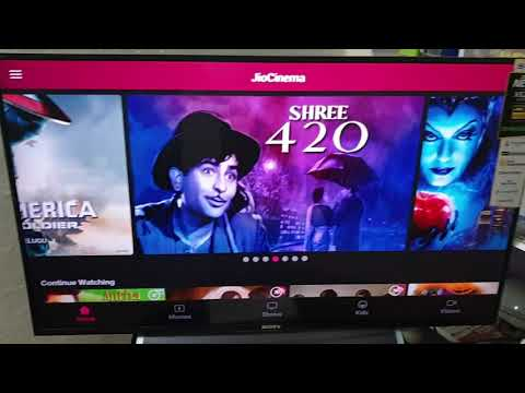 How to get Sun Nxt and Eros Now sponsored content in jio cinema app on android tv