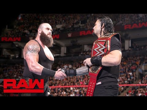 Roman Reigns and Braun Strowman to battle inside Hell in a Cell: Raw, Aug. 27, 2018