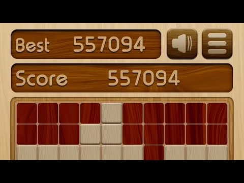 Woody Block Puzzle new high score, over 500,000 points! 🤩