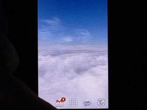 video review of Blue Skies Live Wallpaper