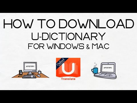 How To Download And Use U-Dictionary On Windows PC/ Mac
