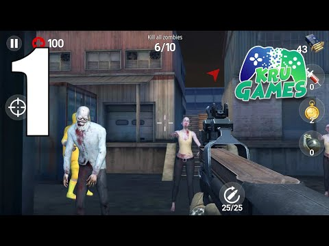 Dead Fire: Zombie shooting Gameplay Walkthrough #1 (Android, IOS)