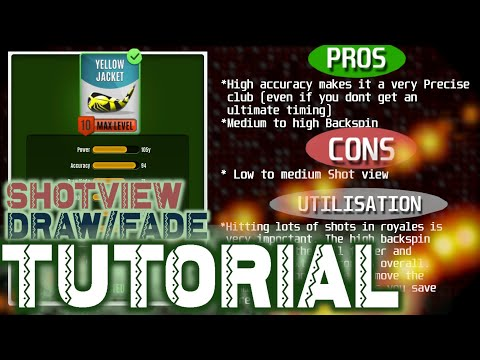#1- Shotview , Draw/Fade Tutorial ,Tips and Tricks ,Guide - MiniClip ⚡Ultimate Golf Archives⚡