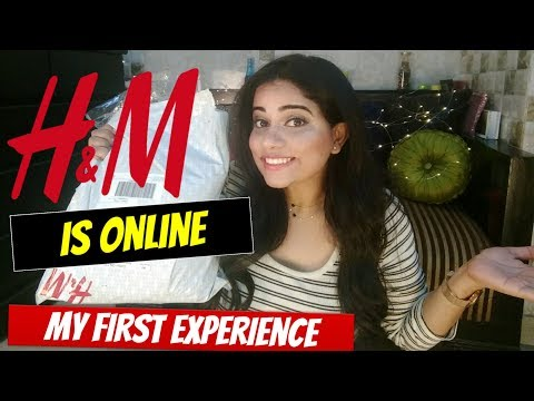 H & M HAUL & MY FIRST ONLINE H & M SHOPPING EXPERIENCE | Sana K